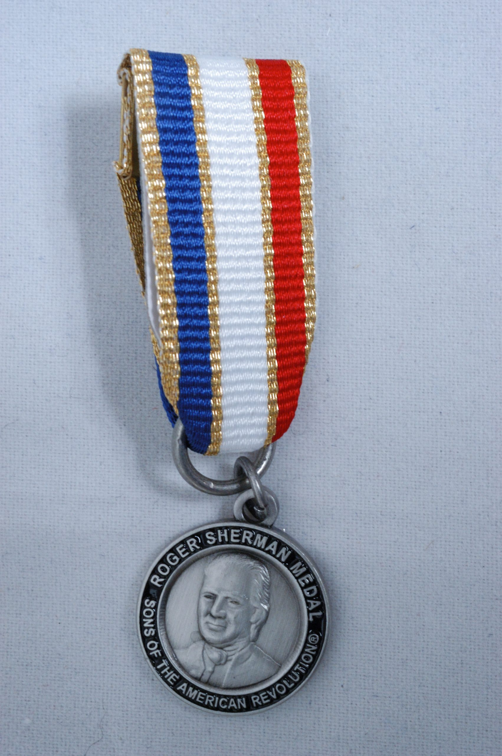Silver Roger Sherman Medal